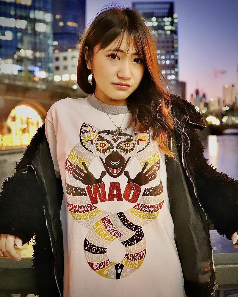 【OTACCIMAN】ワオキツネザルTシャツ〜WAO〜の画像1